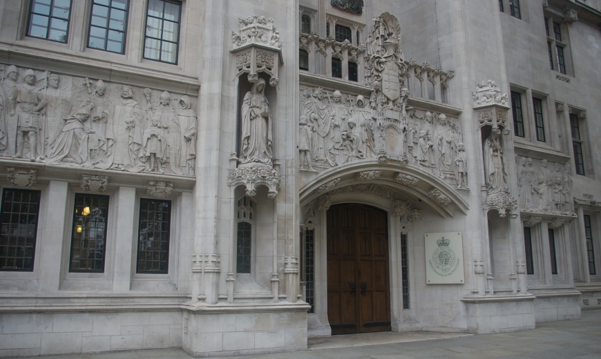 UK Supreme Court - Outside